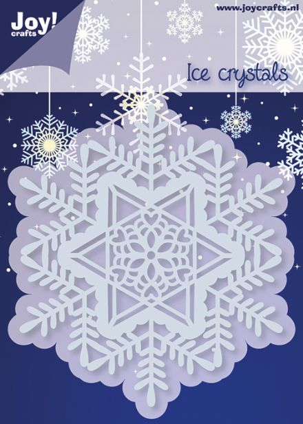 6002/2053 ~ ICE CRYSTAL CIRCLE ~ JOY CRAFTS Cut+Emboss dies